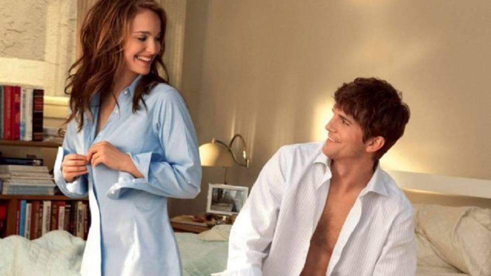 Natalie Portman e Ashton Kutcher em 'Sexo sem Compromisso'