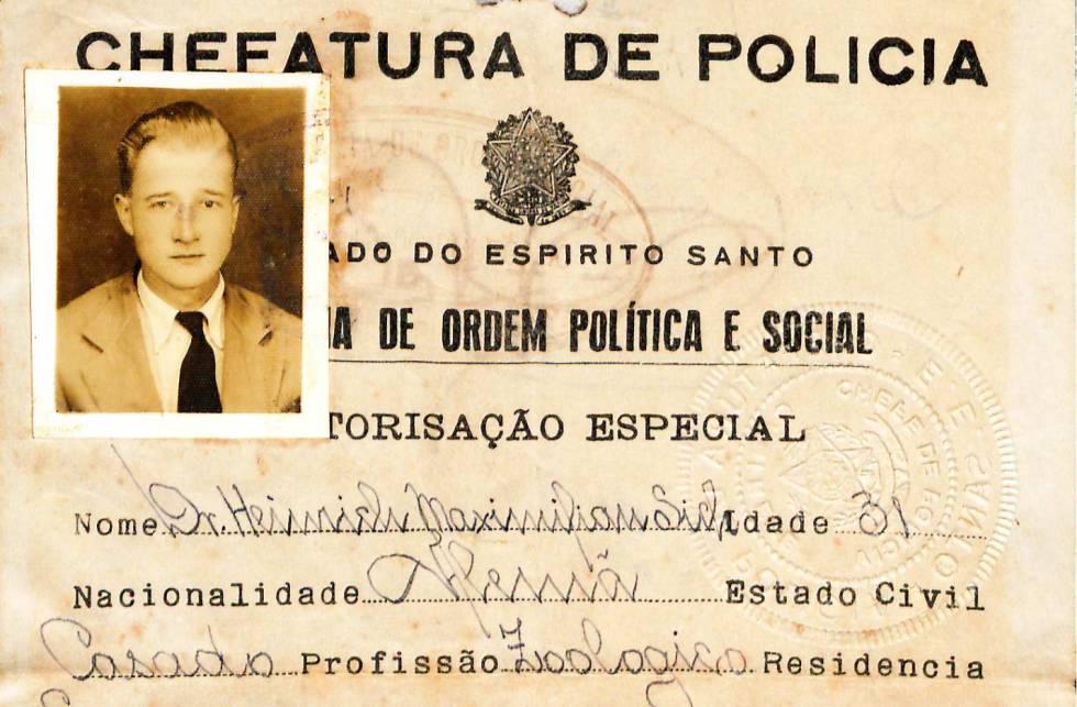 A saga de um cientista alemão preso no Brasil às vésperas da Segunda Guerra