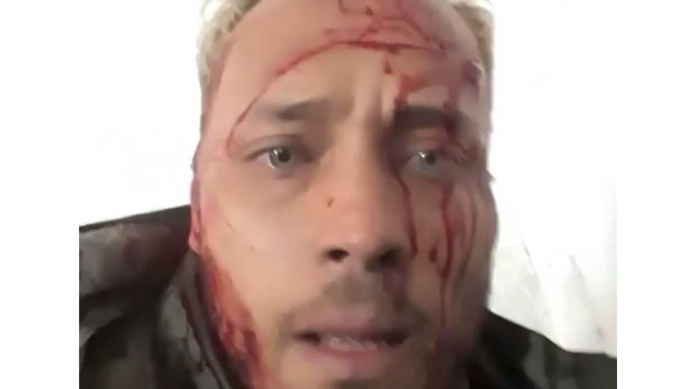 Imagem de um vídeo no Instagram publicado por Óscar Pérez na segunda-feira