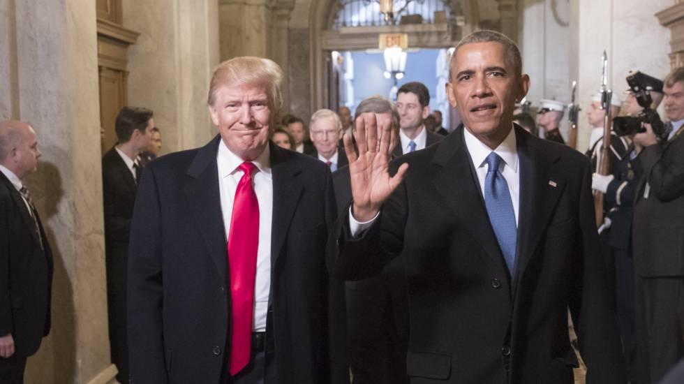 Um ano de Donald Trump presidente dos EUA