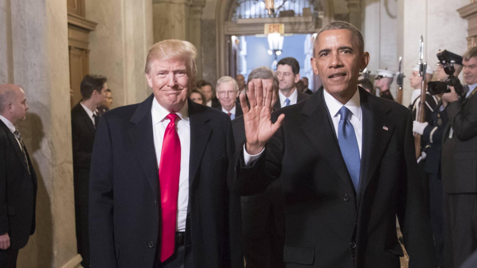Como os EUA de Obama resistem após um ano de Governo Trump