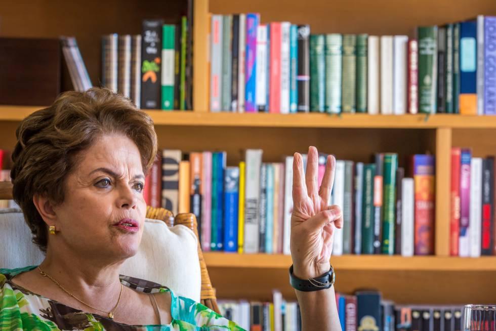 Dilma Rousseff entrevista EL PAÍS