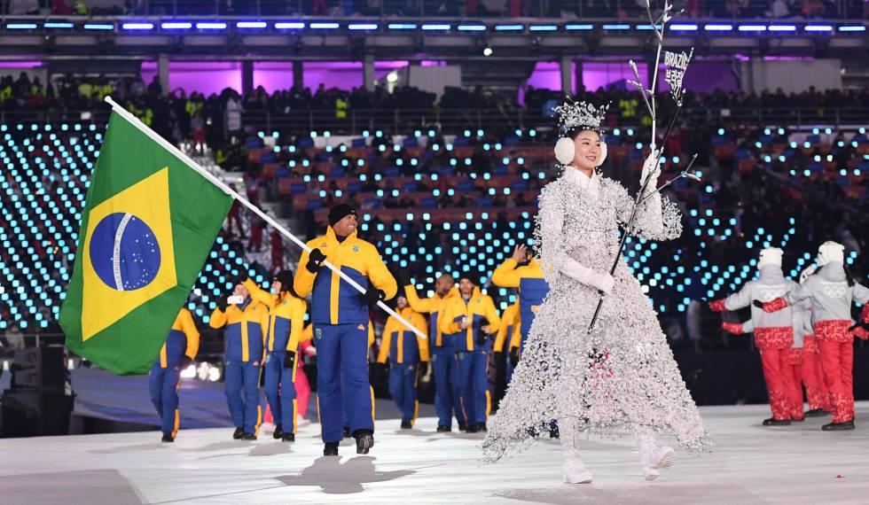 Resultado de imagem para brasileiros na olimpiada de inverno