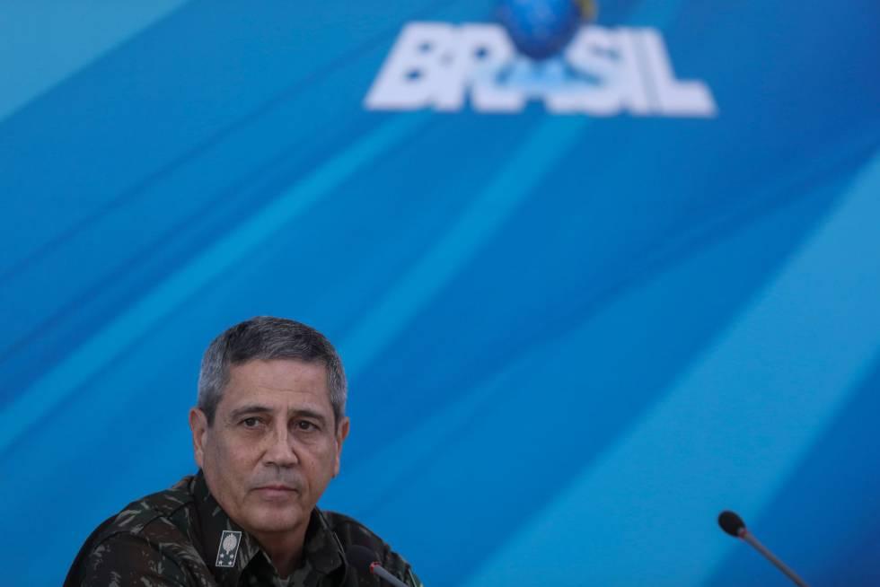 O general Walter Souza Braga Netto, que agora tem poderes de governador do Estado do Rio de Janeiro na área de segurança pública.