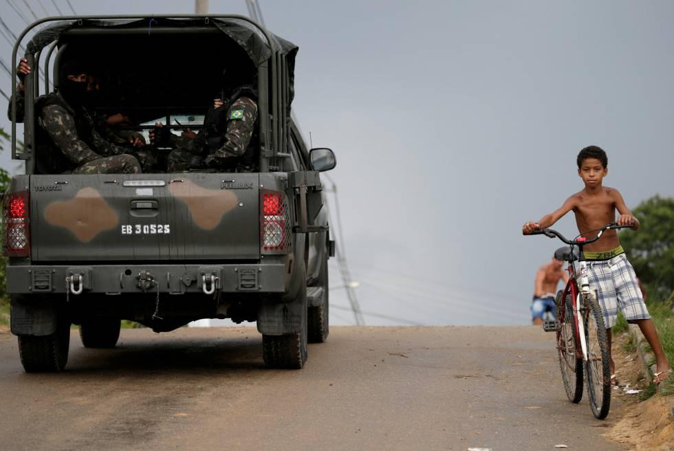 intervenção federal militar no RJ
