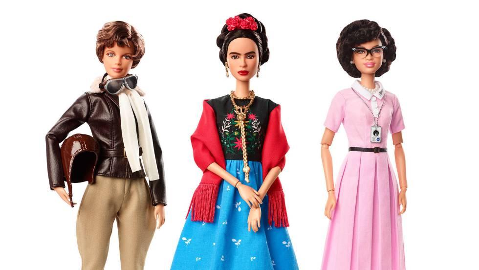 983c0d951 Frida Kahlo ganha a forma de Barbie em coleção de heroínas da Mattel