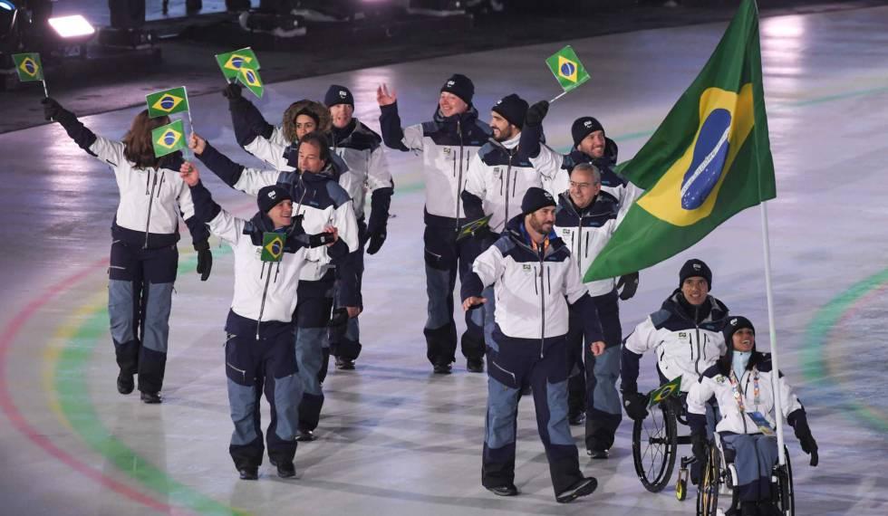 Os três atletas brasileiros nos Jogos Paralímpicos de Inverno de Pyeongchang 2018