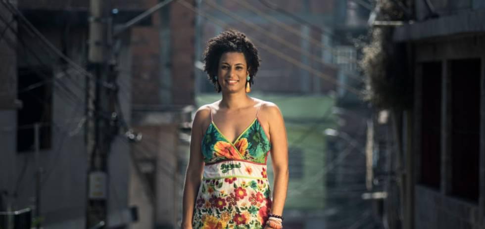 A vereadora Marielle Franco, em uma foto de arquivo.