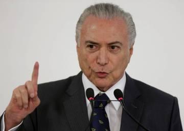 Temer assegura que os EUA vão suspender tarifa sobre o aço brasileiro