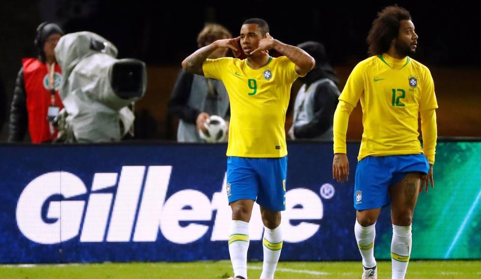 Brasil derrota Alemanha por 1 a 0 com gol de Gabriel Jesus em amistoso 7a3fea3a64687