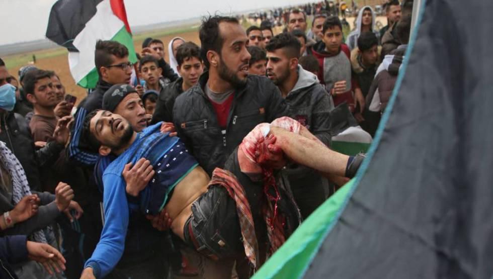 Resultado de imagem para mais de 100 mortes palestina