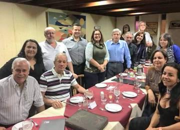 Almoço de generais da reserva com movimentos sociais, na semana passada.
