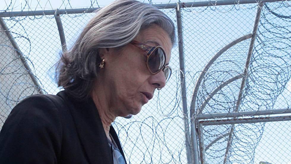 A ministra Cármen Lúcia visita cadeia em BH.