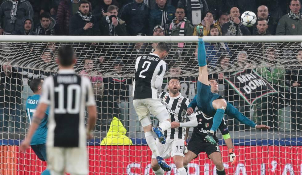 Cristiano Ronaldo gol bicicleta Real Madrid Juventus