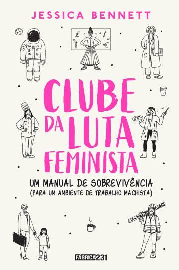 Capa do livro 'Clube da luta feminista'.