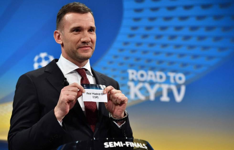 Sorteio Champions League semifinais Liga Europa