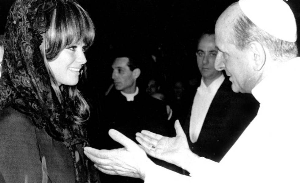 Quando o papa Montini fez Claudia Cardinale chorar