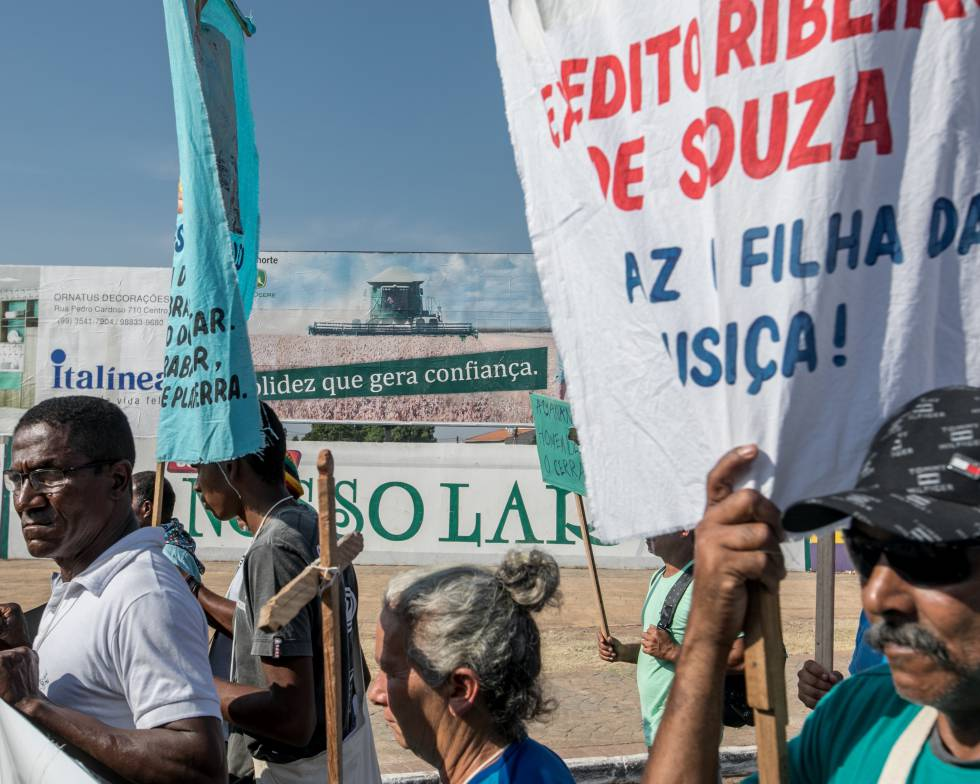 Comunidades rurais fazem protesto em Balsas (Maranhão)