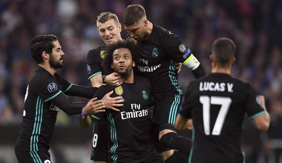 6e4dcbe388 Real Madrid aproveita noite infeliz do Bayern e vence de virada na  Champions League