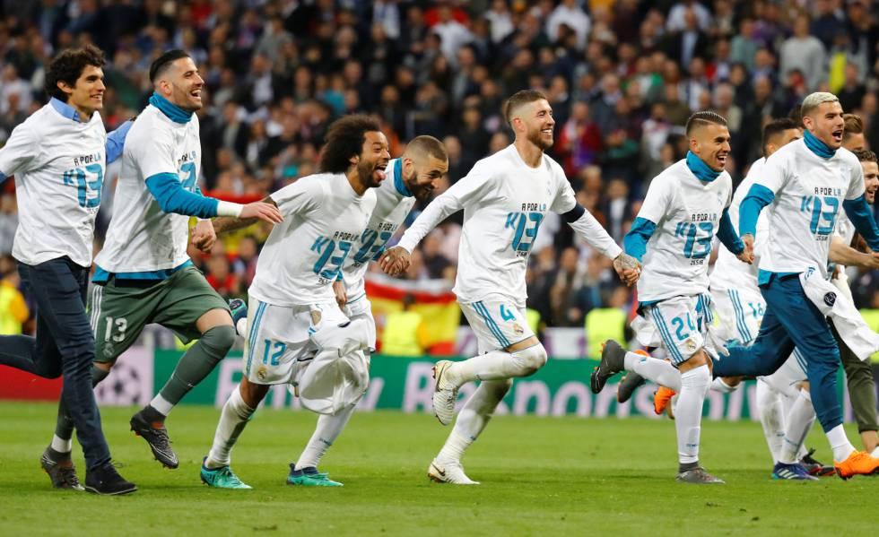 d7a21a4da823e Real Madrid segura o Bayern de novo e vai à final pela terceira vez  consecutiva