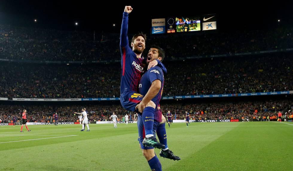 6684e73e6f Barcelona supera expulsão e mantém invencibilidade diante do Real Madrid no  Campeonato Espanhol