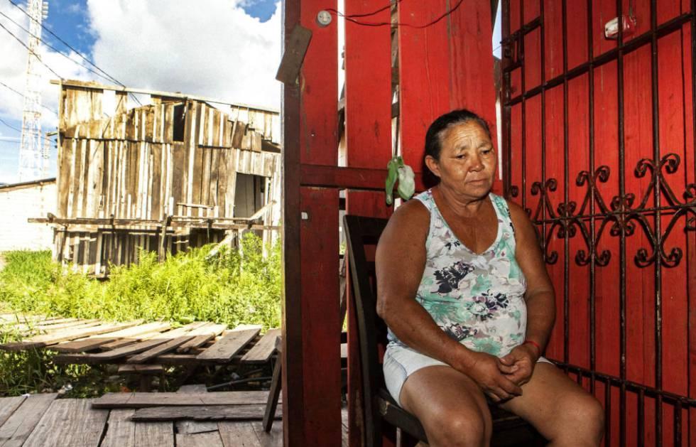 Marlene Moraes da Silva tem o sonho recorrente de que ela e os netos morrem afogados durante a cheia.