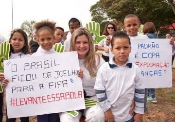 Patrícia Bezerra, vereadora em São Paulo, atua pela proteção de crianças no futebol desde a Copa de 2014.