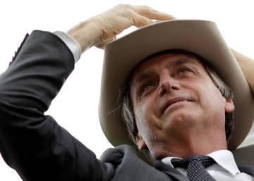 """Bolsonaro diz que sua candidatura é """"imbroxável"""" e que """"a Amazônia não é nossa"""""""