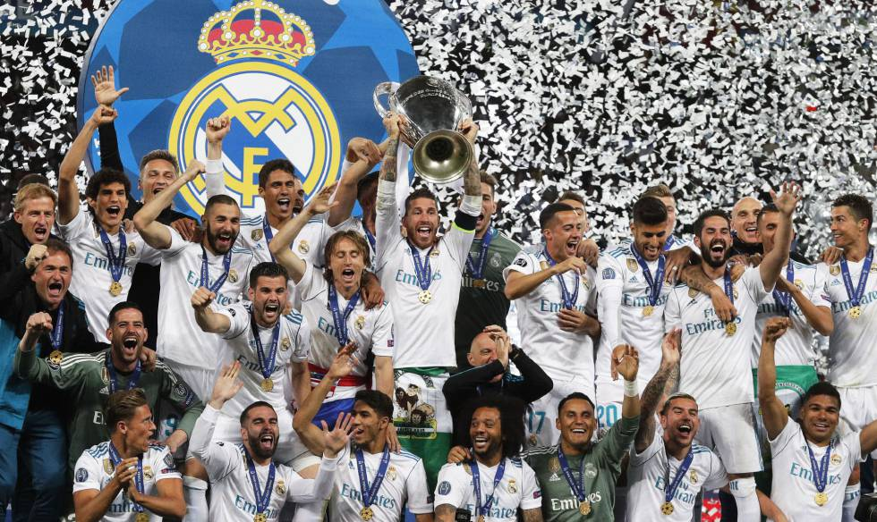 Real Madrid campeão Champions League Liverpool
