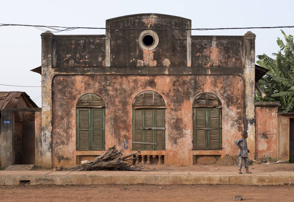 Casa em Ibadan, na Nigéria