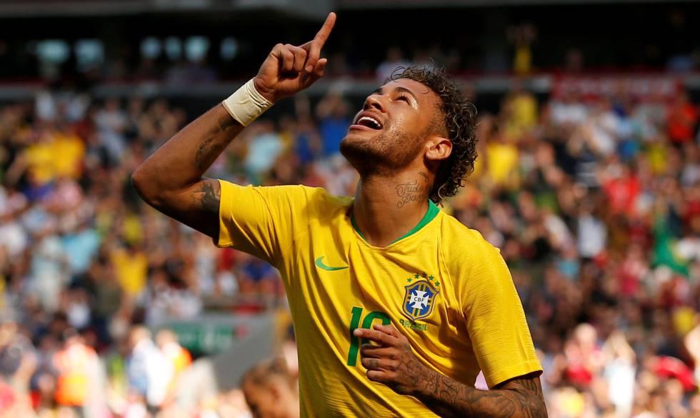 291bae8c8b Neymar volta em grande estilo e abre caminho para vitória do Brasil sobre a  Croácia