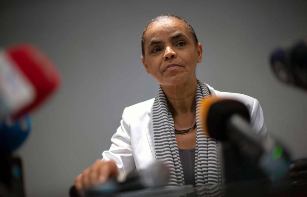 Pré-candidata da Rede à Presidência, Marina Silva.