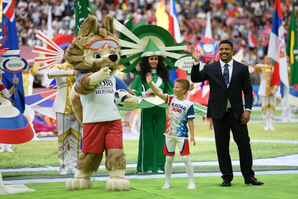 Resultado de imagem para abertura da copa do mundo 2018