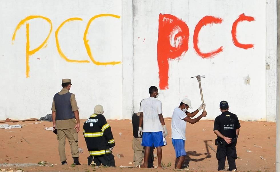 Resultado de imagem para PENITENCIARIA PCC