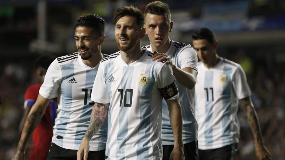 Argentina x Islândia  onde assistir ao jogo pela Copa do Mundo ... 4b3c93ed09c42