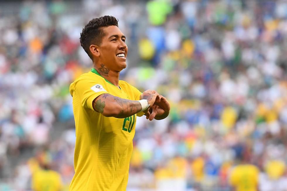 roberto firmino brasil mexico gol