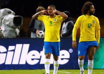 ... Brasil derrota Alemanha por 1 a 0 com gol de Gabriel Jesus em amistoso fcf6e65a3a974