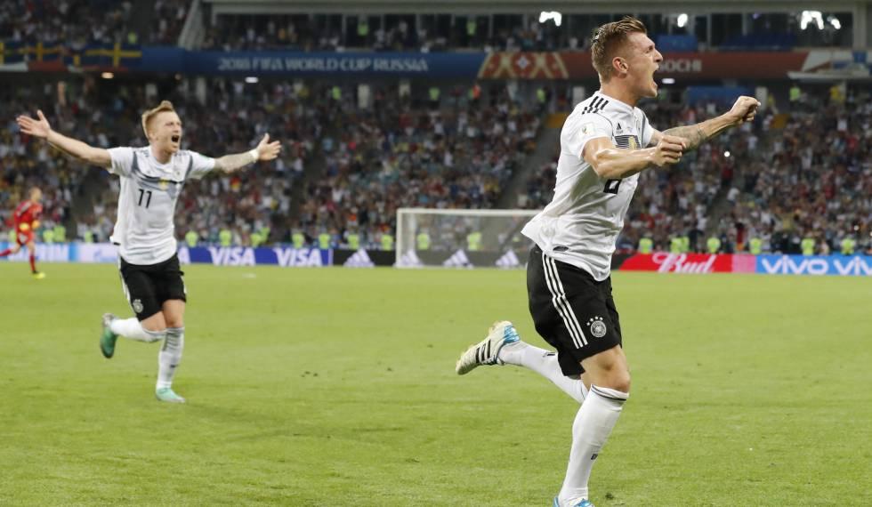 Kroos marca nos acréscimos contra a Suécia e mantém a Alemanha viva na Copa 282f8bf33a767