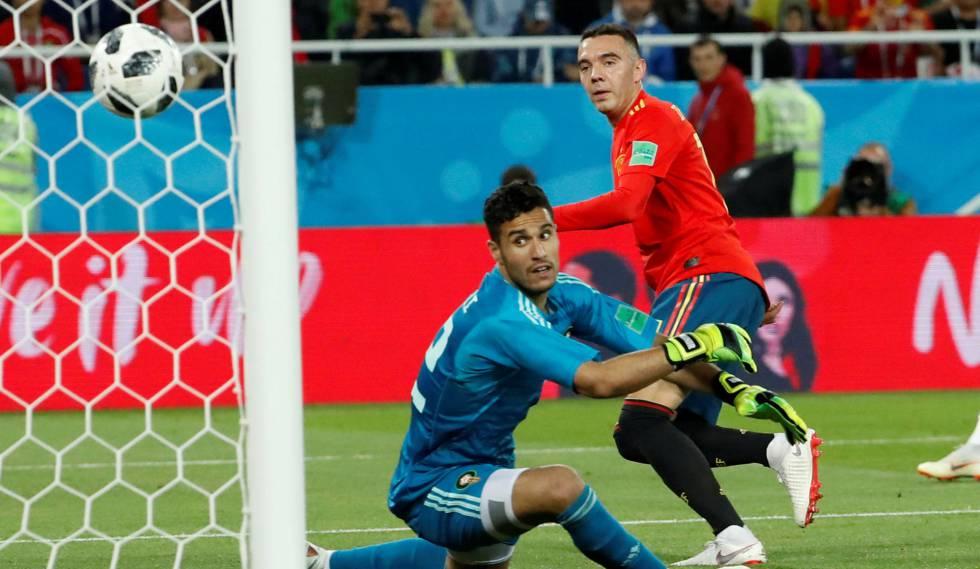 b9520dce45 VAR salva Espanha de derrota para o Marrocos
