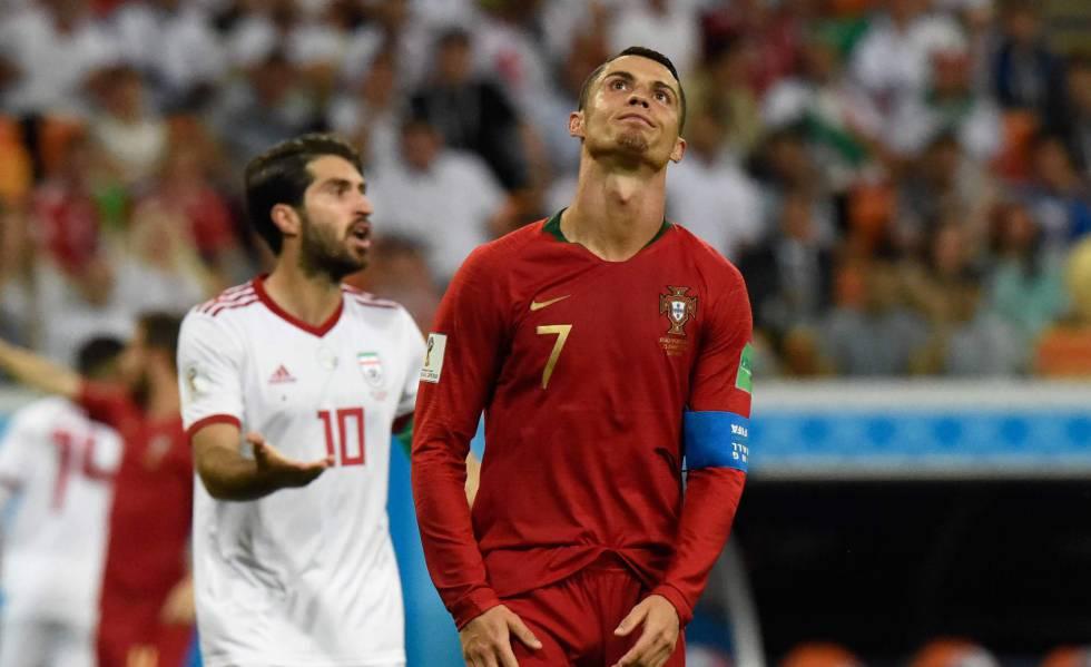 Cristiano Ronaldo perde pênalti e Portugal sofre em empate com o Irã ... 7d32415693b4a