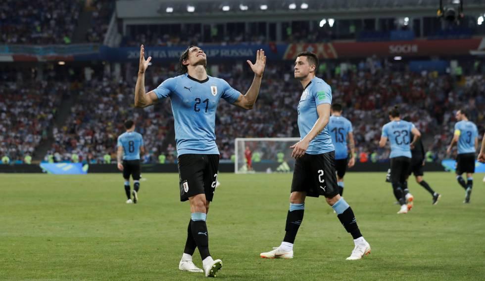 47ae2f1beb879 Cavani decide em vitória sofrida do Uruguai sobre Portugal ...