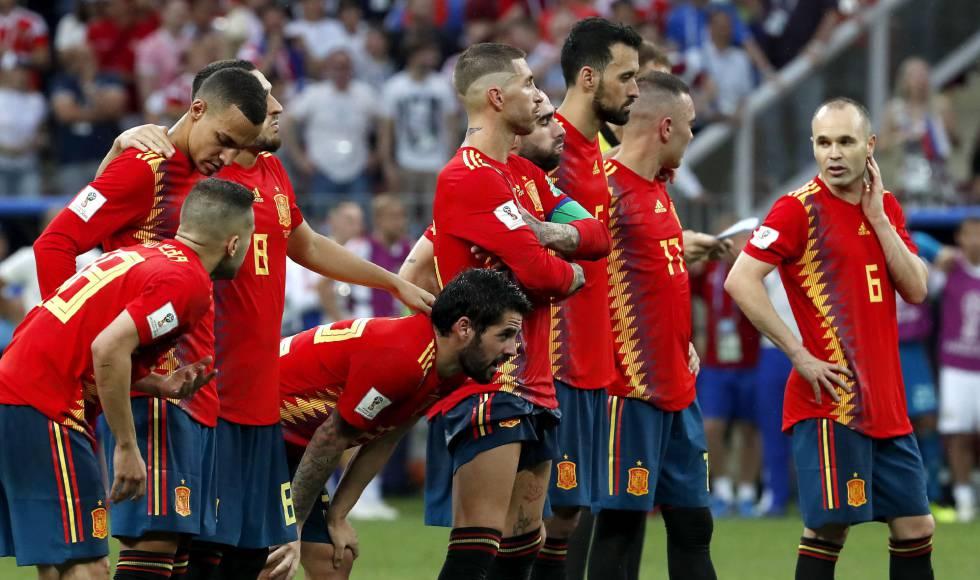 Espanha perde para a Rússia nos pênaltis e dá adeus ao sonho do bicampeonato cf6f91b6da828