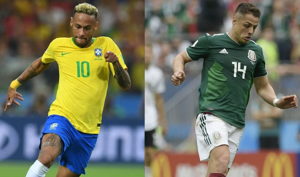 Brasil x México  onde assistir ao jogo pelas oitavas de final da Copa do  Mundo aefbc070300e7