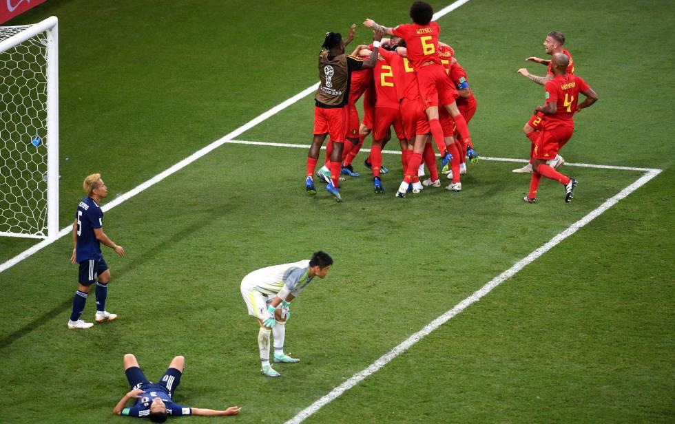 Bélgica vira sobre o Japão no último minuto e pega o Brasil nas quartas d2d41859fc83a