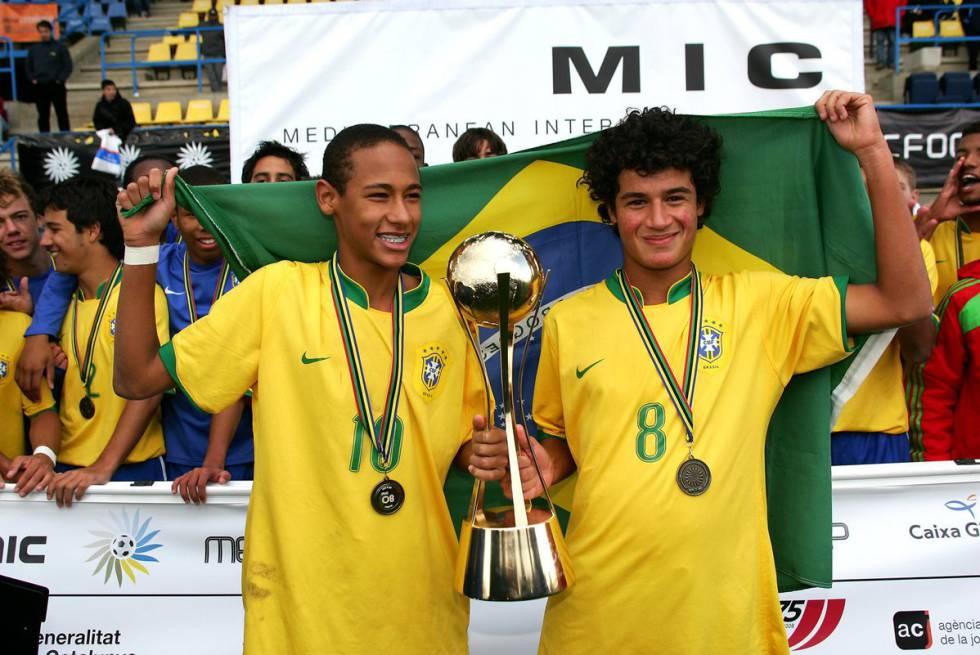 Neymar e Coutinho  uma década de cumplicidade  91d91cd2ef1e2