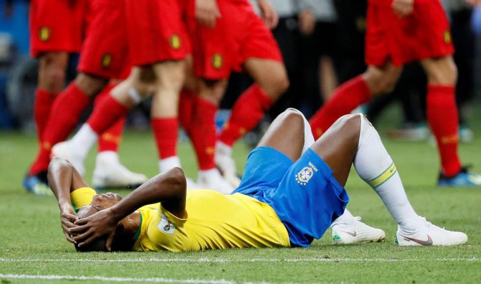 Brasil eliminado Belgica Copa do Mundo