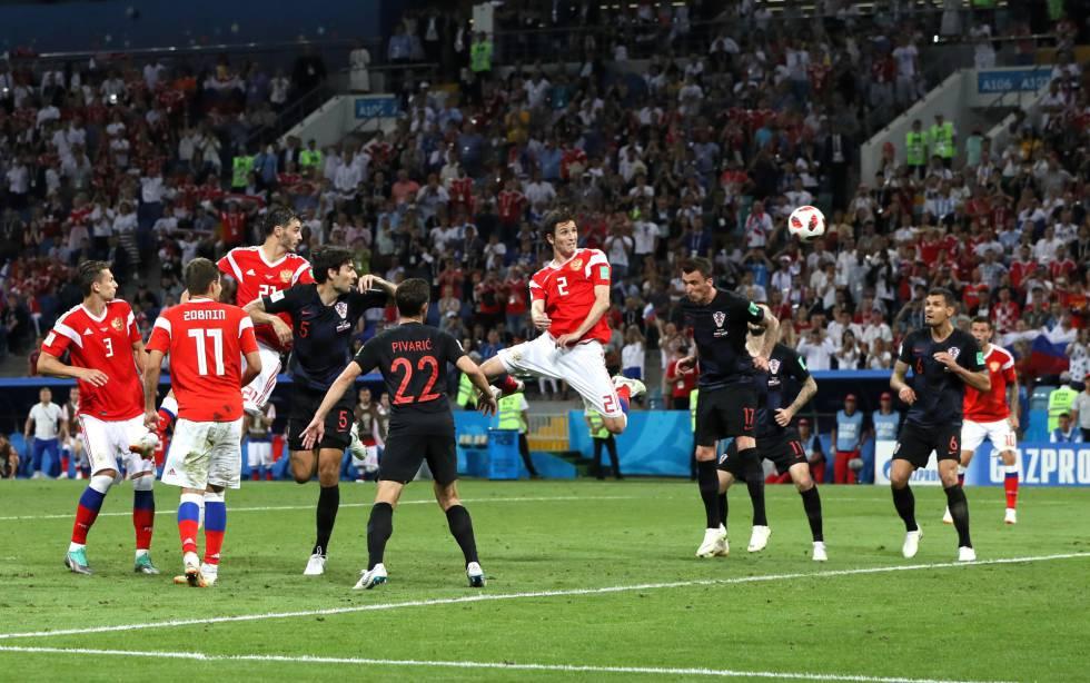 Resultado de imagem para Russia 2x2 croacia