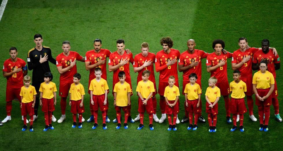 Semifinais da Copa  Bélgica ou a ascensão do futebol mestiço ... 633ce67107df1