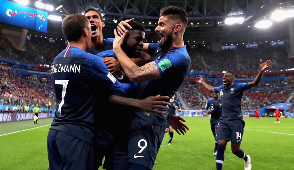 França supera Bélgica com gol de Umtiti e está na final da Copa do Mundo 00c4c8e9a49cf