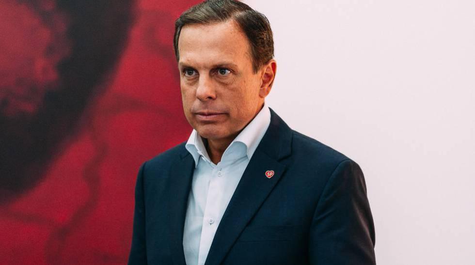 João Doria, em seu último dia como Prefeito de São Paulo.